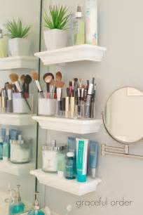 Bathroom Counter Organization Ideas by 30 Best Bathroom Storage Ideas And Designs For 2017