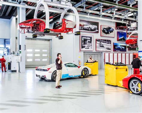 ferrari headquarters inside ferrari s factory in maranello italy an inside look