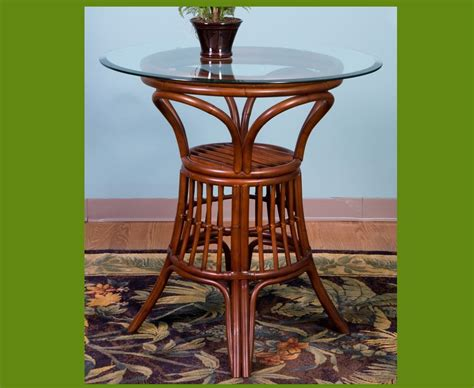 Rattan Bar Table Universal Rattan Bar Table Kozy Kingdom