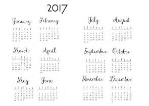 Calendar 2018 Diy Year At A Glance For Planners And 2018 Diy