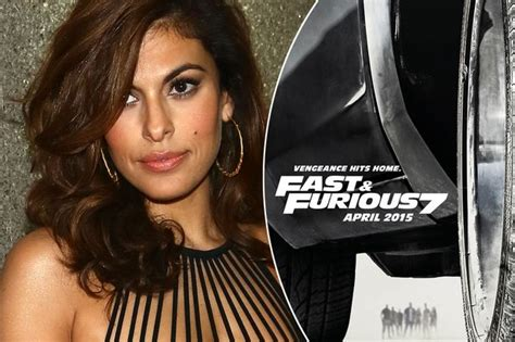 fast and furious 8 eva fast and furious 8 eva mendes wanted for main plot in