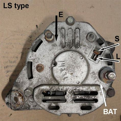 ln106 alternator wiring diagram image collections