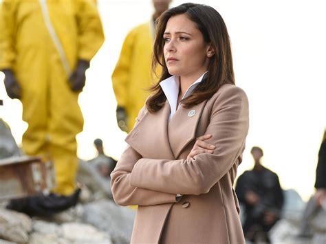 designated survivor emily emily rhodes beige wrap coat on designated survivor pradux