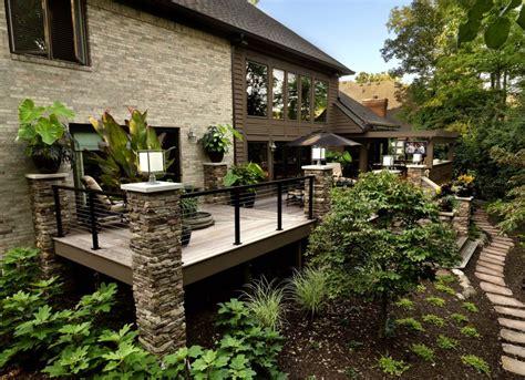 terrasse maison terrasse balcon d une maison luxueuse garde corps net