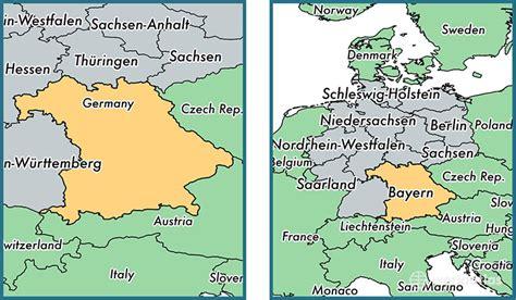 bavaria germany map bavaria state germany map of bavaria de where is