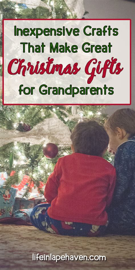 christmas gifts for soon to be grandparents inexpensive crafts that make great gifts for grandparents