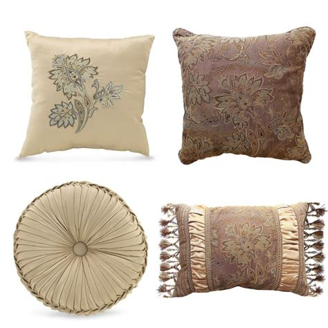 fancy couch pillows pillows decorative croscill marcella decorative pillows