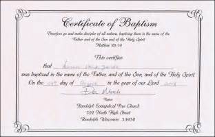 editable baptism certificate template certificate234