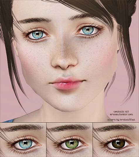 sims 4 cc sclera contact my sims 3 blog contacts n13 by eruwen