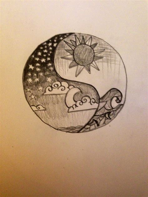 moon and doodle sun and moon doodle