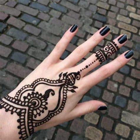 henna tattoo designs tumblr 23 tatuajes para la mano que te puedes hacer con henna