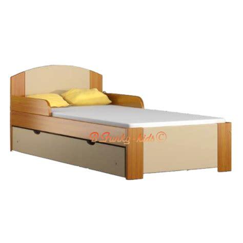Kasur Bed Uk 160 solid pine wood junior bed with drawer bil1 180x80 cm