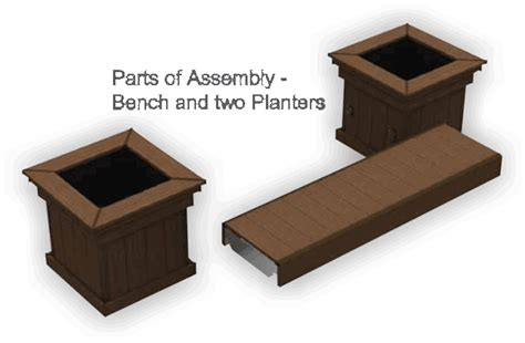 planter boxes with bench composite deck contractor in ma azek bench planter