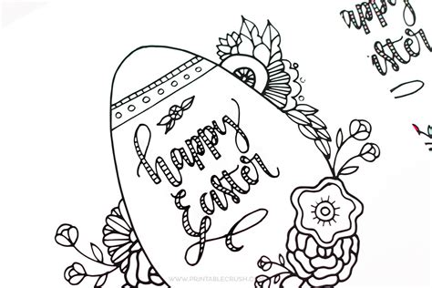 free easter coloring pages free printable easter coloring page printable crush