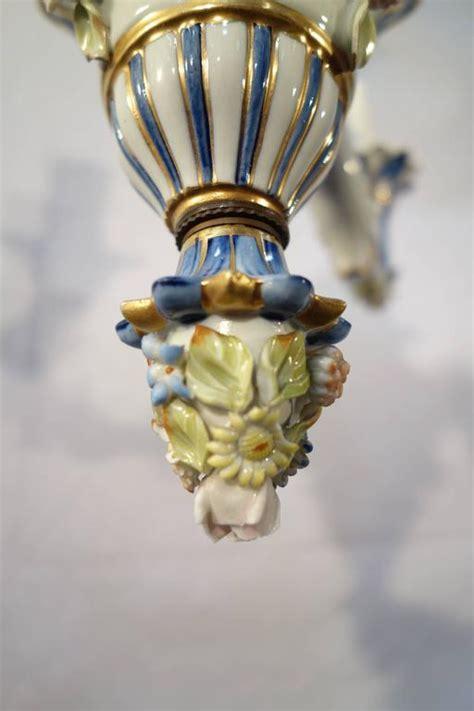 capodimonte porcelain chandelier antique italian porcelain capodimonte chandelier at