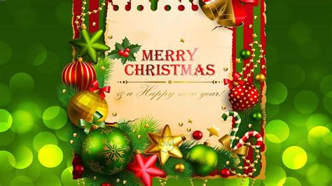libro merry christmas a beautiful merry christmas and happy new year wishes greeting card on green background