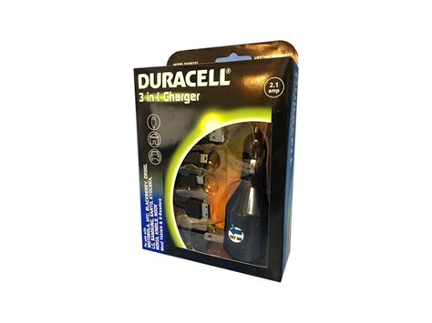 duracell cell phone charger duracell 3 in 1 car home or usb charger for cell