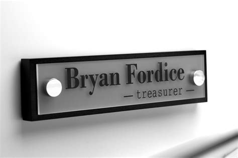 custom office desk signs captivating 40 office door name plates design inspiration