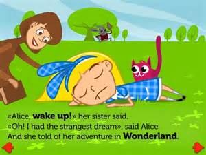 alice adventures wonderland apps kids ipad iphone