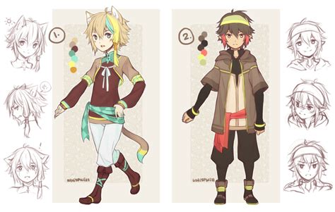 anime boy clothes designs design auction boys sold thanks by whispwill on deviantart