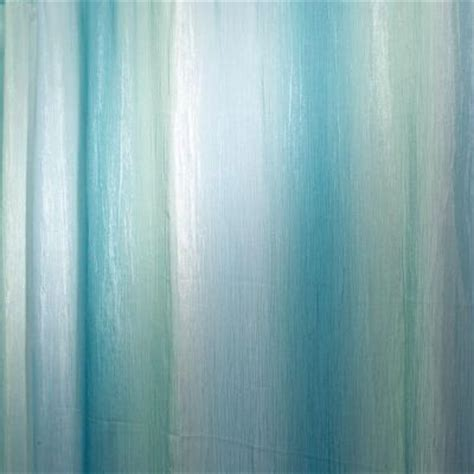 blue green shower curtain ombre print shower curtain in blue green 35804 the home