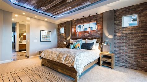 Cozy Home Interiors by 50 Delightful And Cozy Bedrooms With Brick Walls