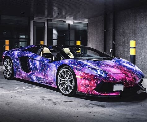 galaxy car paint galaxy paint lamborghini galaxy painting