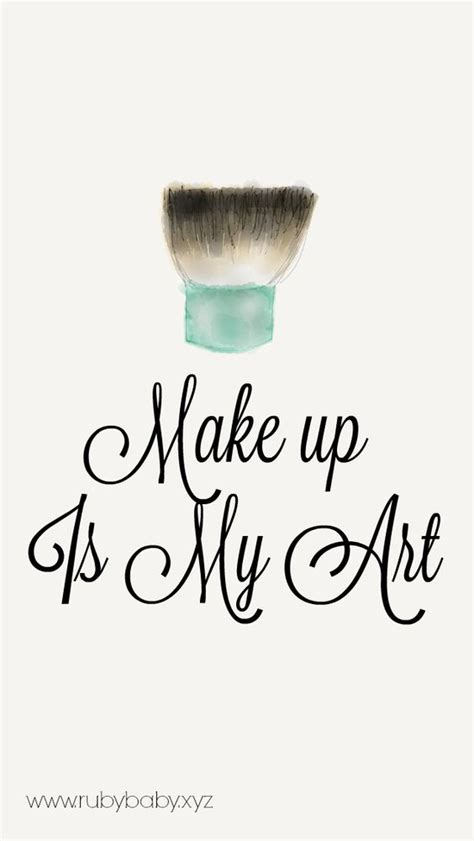 wallpaper cute makeup makeup lover wallpaper write to the point iphone