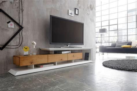 modernes tv lowboard emela cm edelmatt weiss asteiche