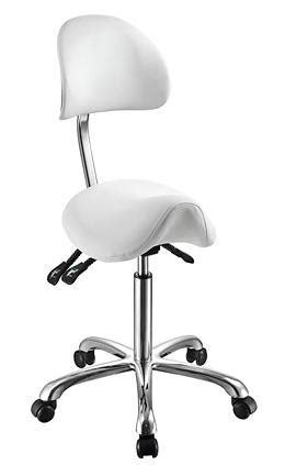 Saddle Chair With Back Support by Lolli Sa Rolling Saddle Stool With Back Support 1025a