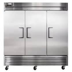 true t 72 3 door reach in refrigerator bottom mounted