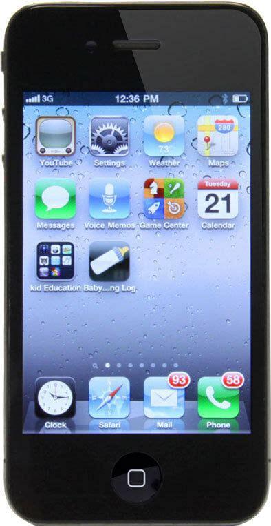 Iphone 4 For Sale by Apple Iphone 4 16gb Black Unlocked Smartphone Sale Price 885909406784 Ebay