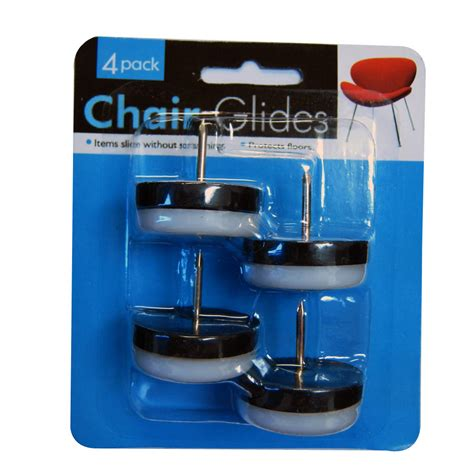 furniture glides for tile floors 4 chair glides 3 4 quot naill on furniture leg plastic