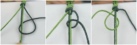 How To Tie A Knot With 3 Strings - friendship bracelets easy diy macrame tutorial