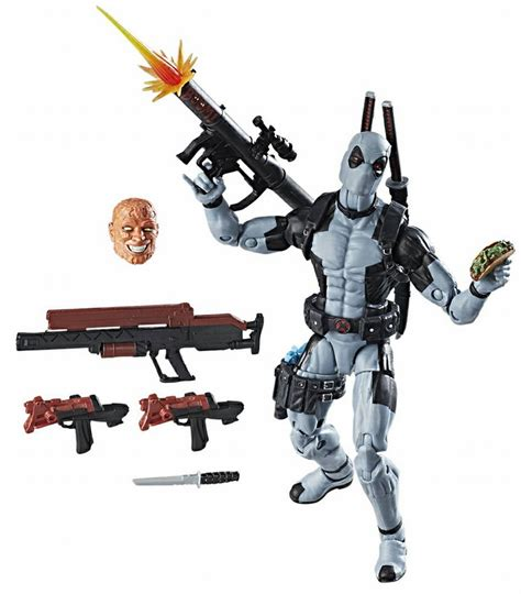 Deadpool Gunshot Lego Bootleg Kws Limited hascon exclusive marvel legends x deadpool photos marvel news