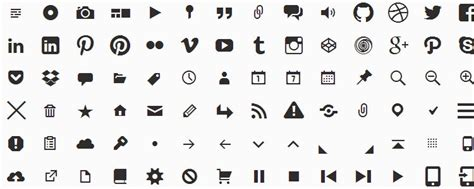 design icon font awesome top 50 free icon fonts for web design