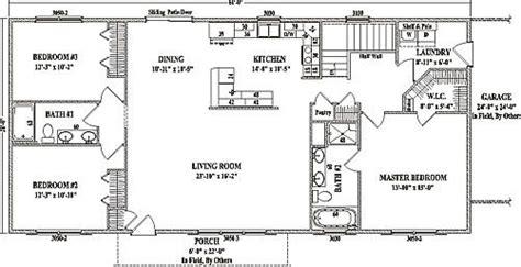 jamestown iv  wardcraft homes ranch floorplan manse pinterest ranch