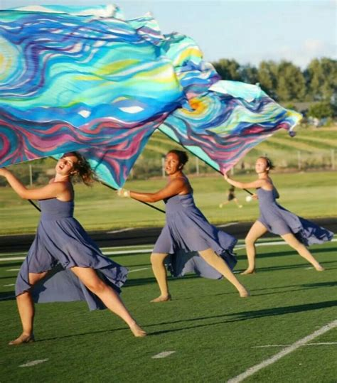 what is the color guard color guard s grit the ridge
