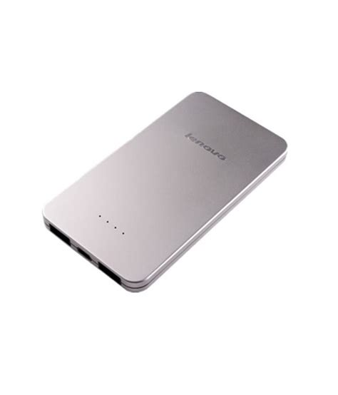 Power Bank Laptop Lenovo Lenovo Power Bank Pb410 5000 Mah Silver Power Banks At Low Prices Snapdeal India