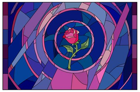 rose in beauty and the beast the running paintbrush beast s enchanted rose