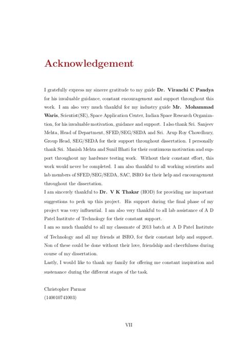 acknowledgement thesis for enrollment system thesis