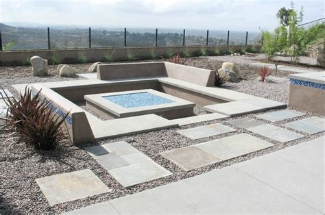 garden pit sunken pit grounded outdoor