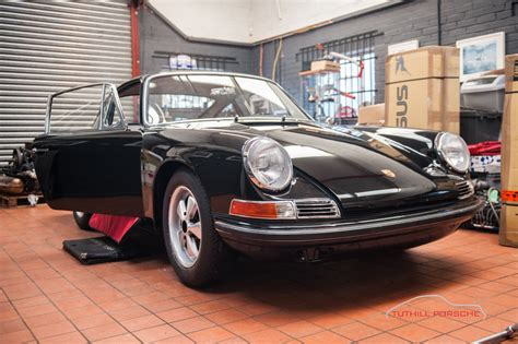 porsche factory restoration early porsche 911s restoration in factory black
