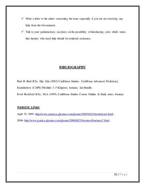 Business Letter Disaster Cape Caribbean Studies Sle Assessment Ia Disa
