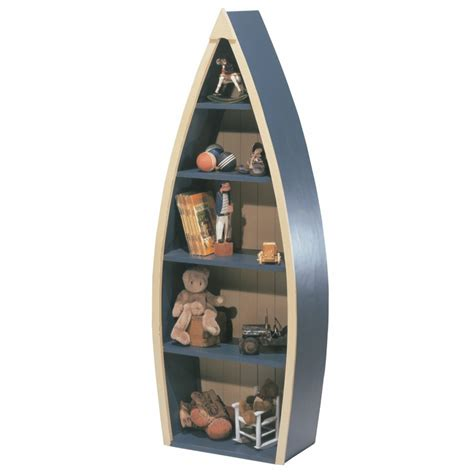tall boat shelf rowboat bookcase by newport cottages rosenberryrooms