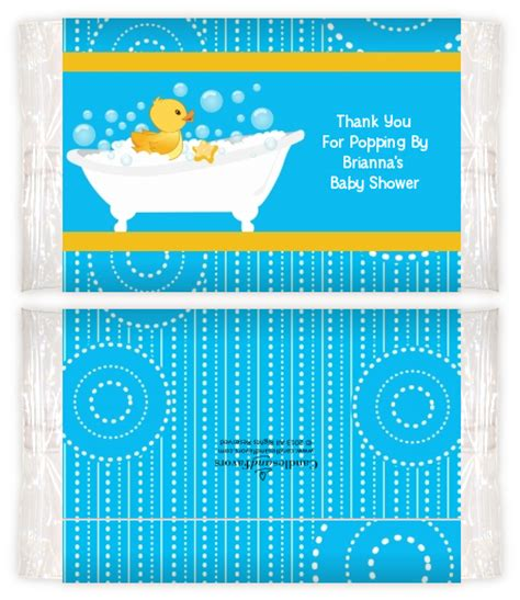 Baby Shower Popcorn Wrappers by Duck Baby Shower Popcorn Wrappers Baby Shower Popcorn