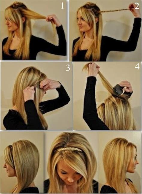 simple hairstyles for party at home partydq lovely braid hairstyle for party