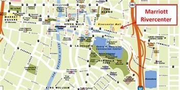 san antonio riverwalk map expo dition 2012