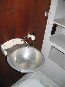 fold up bathroom sink the folding sink in the summer boat project