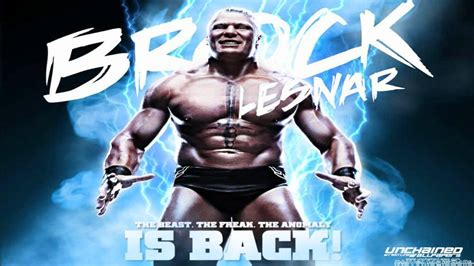 brock lesnar theme with lyrics full version wwe brock lesnar 5th theme song quot next big thing quot by jim